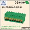 Pluggable разъем PCB терминальных блоков Ll2edgrkd-3.5/3.81