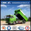 Caminhão de descarga inteletual da cortina de HOWO/FAW/JAC/Shacman/Iveco/Foton/Beiben 6*4 Cimc Huajun