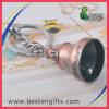 亜鉛合金の記念品の反めっきカラー鐘形Keychain