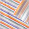 Dünnes Stripe Cotton Polyester Velvet Fabric für Fashion Garment