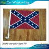 Bandierina confederata della finestra di automobile degli S.U.A.