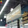 Rodillo promocional de encargo de la bandera de la flexión del PVC de Wolesale