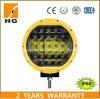 4X4 9inch lumière tous terrains de travail de l'endroit jaune 96W DEL de réflecteur de la lumière pilotante 4D