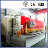 Máquina de estaca de corte hidráulica da placa de metal do CNC (QC12Y-10X3200)