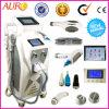 Opt a máquina da remoção do tatuagem do laser do rejuvenescimento da pele da remoção do cabelo do IPL Shr