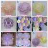 Artificial colorido Card Paper Flower para Home o Wedding Decoration (WFAH-25)