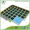 Jump quadrado Large Trampoline Bed com Foam