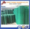 鋼鉄塀004の品質の確実な緑PVCオランダ塀、装飾用の塀