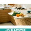 Muebles de las cabinas de cocina de Hmr de la melamina de la venta al por mayor de la muestra libre (AIS-K988)