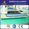Machine de découpage de laser de fibre de plat d'acier inoxydable de bonne qualité