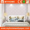 Dormitorio romántico Wallcovering con el papel no tejido