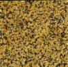 Tuile naturelle jaune de revêtement de mur de granit, dessus de cuisine