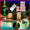 Luz de la Navidad impermeable de las iluminaciones del laser de la luz al aire libre de la etapa