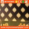 Revêtement de mur imperméable à l'eau de luxe de décoration de maison de qualité supérieur