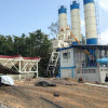 Ce, ISO Hzs50 Concrete Batching Plant in Rusland