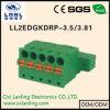 Pluggable разъем терминальных блоков Ll2edgkdrp-3.5/3.81