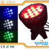 12*10W Rgbwauv Outdoor LED PAR Light per Stage