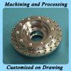 Обслуживание подвергли механической обработке CNC, котор с хорошим поверхностным покрытием