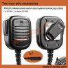Radio bidirezionale Medium Weight Duty Remote Speaker Microphone per Sepura STP9000 STP8000