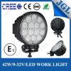 방수 트럭 트레일러 둥근 LED 일 램프 42W