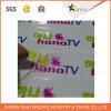 Escritura de la etiqueta impresa transparente auta-adhesivo de la divisa de la impresión de la etiqueta engomada del empaquetado y de la impresión