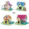 Villa all'ingrosso 3D Paper Puzzle Toy per Children Toy