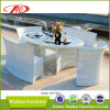 Insieme pranzante di vimini della mobilia del giardino (DH-7061)
