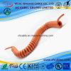 Câbles norme australienne Pur Spiral non blindée PP / Câble caoutchouc PUR