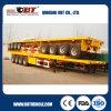 De op zwaar werk berekende Flatbed Aanhangwagen van 70 Ton