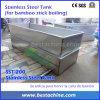 Tratamiento químico del palillo de bambú, el tanque de ebullición del acero inoxidable