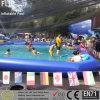 Metallfeld-Spielplatz scherzt aufblasbares Pool