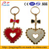 Keyringの弓Heart Cut Metal Keychain