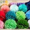 Bolas hechas a mano del panal del papel de tejido de la decoración de las duchas de bebé mini