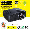 Plus nouveau Brirghtest 1500lumens Android Full HD DEL Digital Smart Home Theater Projector