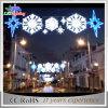 屋外のスカイラインの最も熱い昇進のクリスマスの装飾の街灯