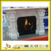 Granito Stone Carved Fireplace per Indoor Decoration
