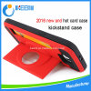 Cas en plastique de vente chaud de couverture de téléphone mobile de PC de Kickstand TPU