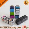 Movimentação plástica do flash do USB do cubo mágico novo da novidade (YT-1140)