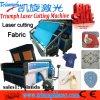 Auto máquina de corte de alimentação para a roupa, cortador de couro do laser do laser para a tela