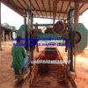 La bande en bois dure de découpage de la scie à ruban Mj2500 horizontale a vu la machine