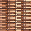 Het hete Mozaïek van de Kunst van het Glas van de Verkoop Gouden (VMW3902)