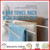 Cremalheira de toalha apropriada do suporte de toalha do banheiro dos acessórios do banheiro com copo da sução