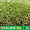 Herbe artificielle d'horizontal vert normal