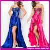 Vestido de noite de arrasto do diamante luxuoso de 2014 senhoras da alta qualidade