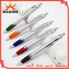 Pena de esfera plástica popular para a impressão do logotipo da promoção (BP0216S)