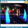 Het nieuwe Huwelijk van het Merk, de Opblaasbare Pijlers van de Decoratie van de Gebeurtenis met LEIDEN Licht op Verkoop