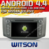 Witson Android 4.4 Car DVD для Nissan Sylphy с A9 интернетом DVR Support ROM WiFi 3G набора микросхем 1080P 8g