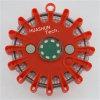 La parte superiore ricaricabile rossa LED risponde chiarore di avvertimento del LED