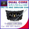 Auto DVD für CPU Video Audio Playe Hyundai I30 S100 GPS Navigation Radio Bluetooth Car Kit Fernsehapparatusb-WiFi 3G 1g