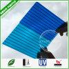 Le plastique d'OEM de bleus lambrisse les cartons ondulés creux solides de feuilles de polycarbonate de découpage